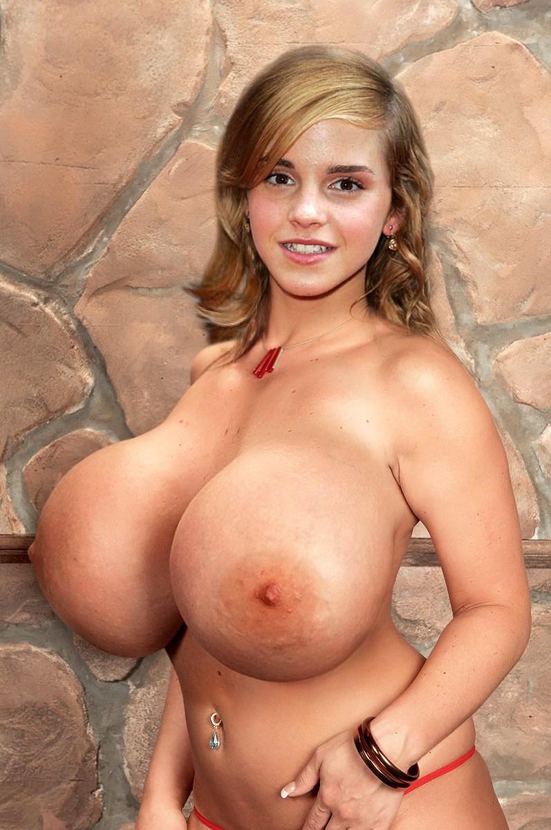 Big huge naked tits