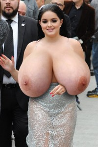 Idea happens. celebs with huge tits think, that