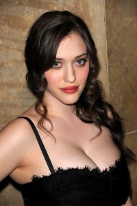 Kat Dennings privat home made topless photos